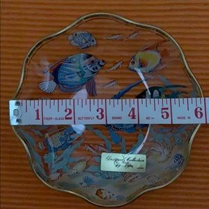 Designer Collection by Lefton Japan ruffled plate